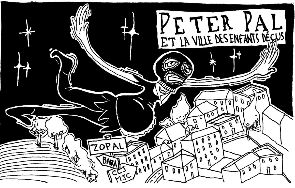 Peter Pal et la ville des enfants déçus