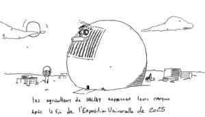 #5– Expo Universelle: «2025, non merci!»