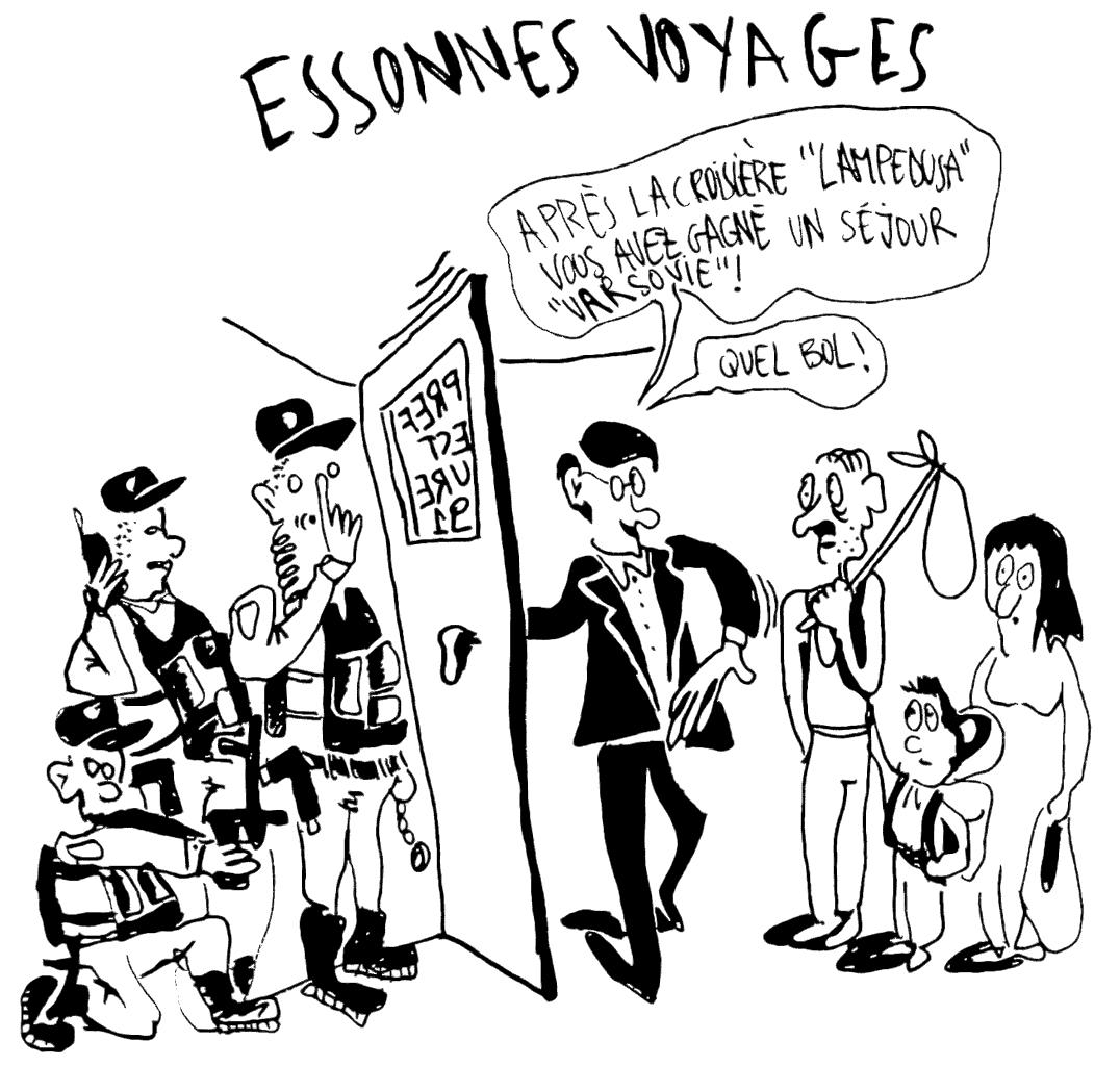 #6 – Guet-apens répétés dans les préfectures de l'Essonne et de Paris