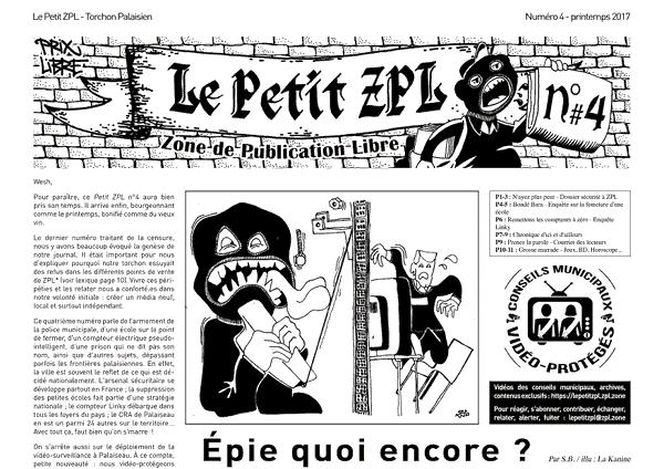 Le Petit ZPL n°4