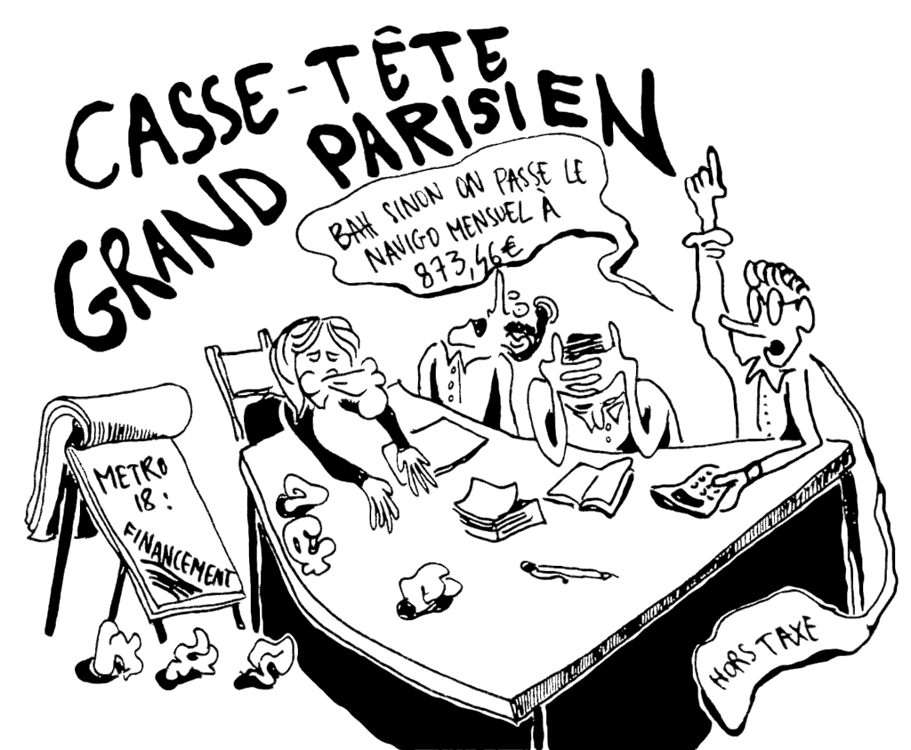 Casse-tête grand parisien