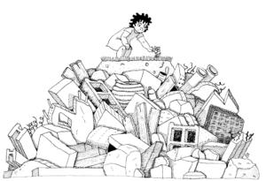 #8– On va pas en faire une montagne… de déchets