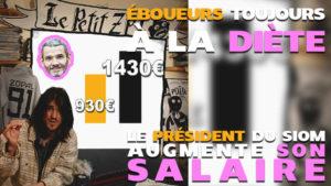 Éboueurs toujours à la diète: le président du SIOM augmente son salaire