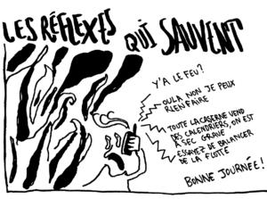 Pompiers: Les réflexes qui sauvent