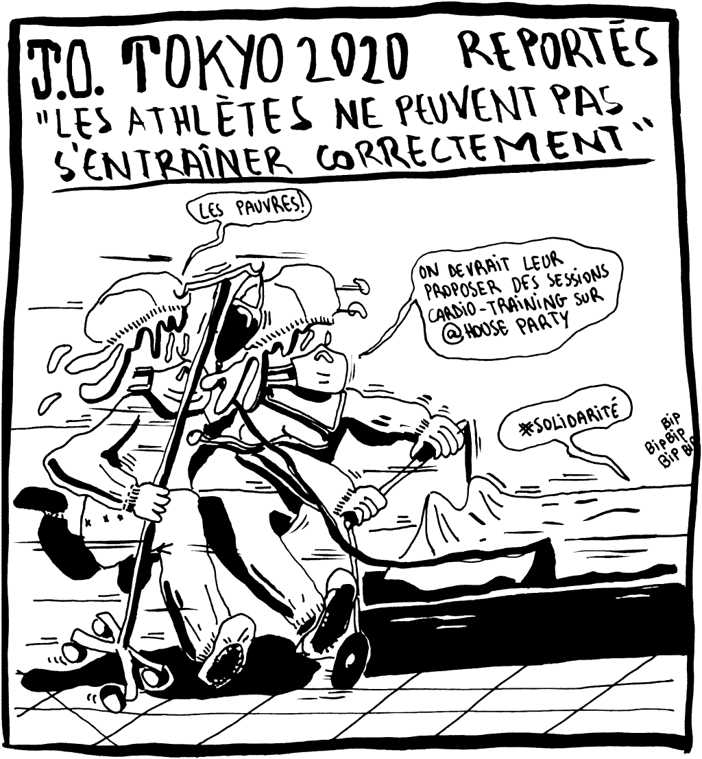 J.O. Tokyo 2020 reportés : Les athlètes ne peuvent pas s'entraîner correctement...