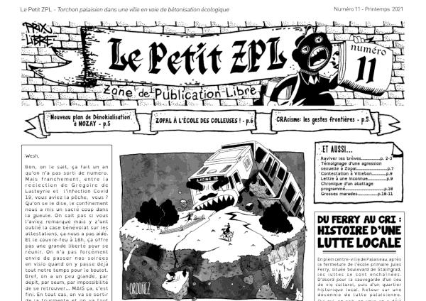 Le Petit ZPL n°11
